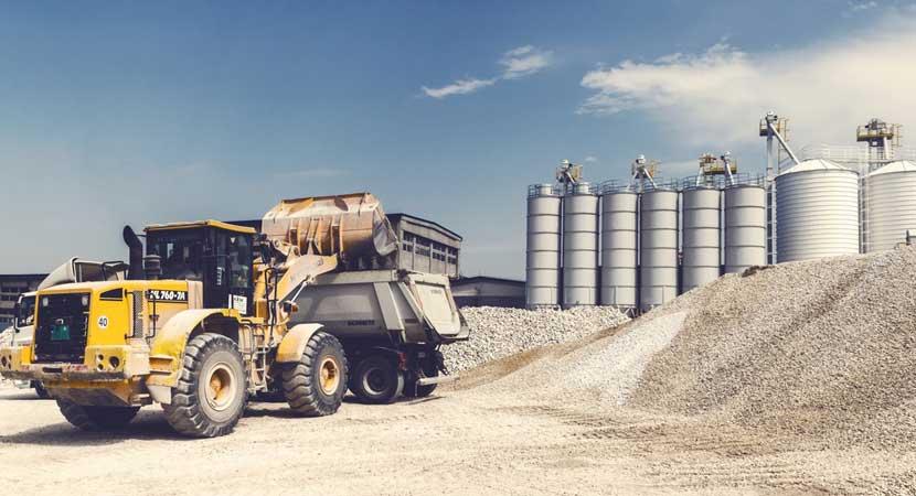 Trucking Heavy Machinery