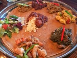 Adulis Eritrean Restaurant, brilliant food