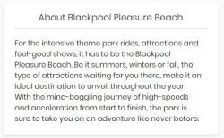 Blackpool Pleasure Beach Discount Code