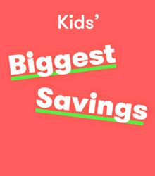 TK Maxx kids saving