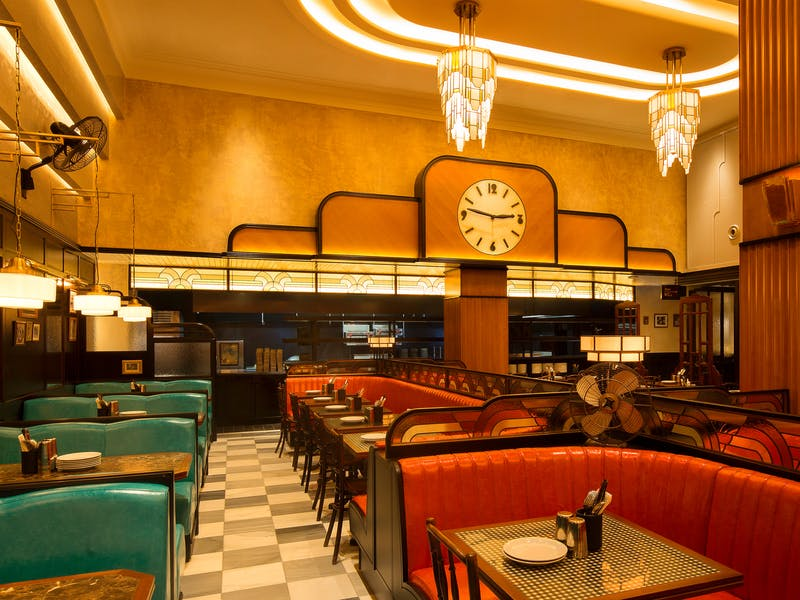 Dishoom Carnaby, From Bombay with love