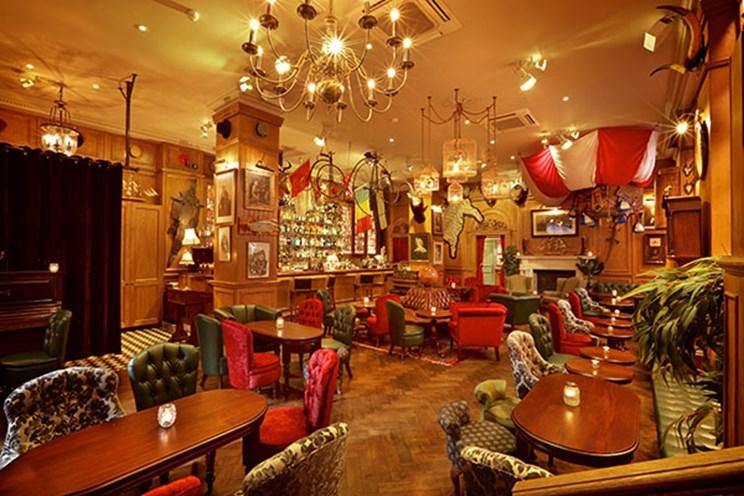 Mr Foggs Residence, Cocktail Bar in Mayfair