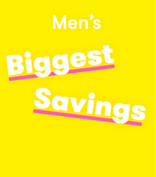 TK Maxx men savings