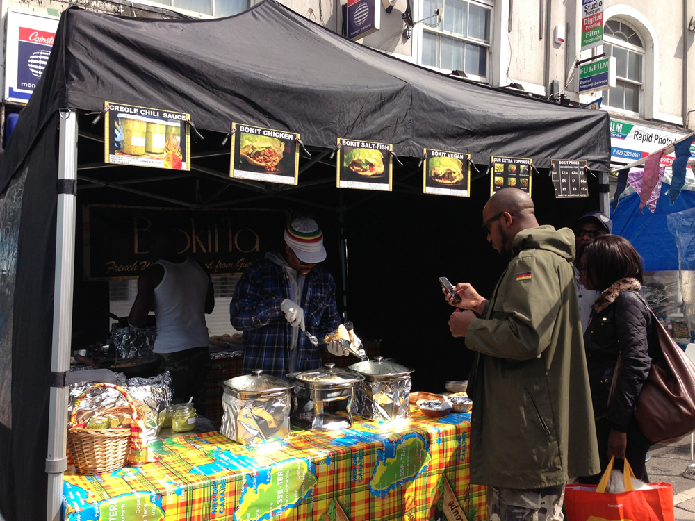 Brixton Market London