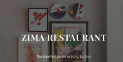 Zima Russian Restaurant & Deli Shop Soho London
