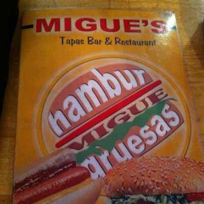 Migue's Tapas Bar Oval